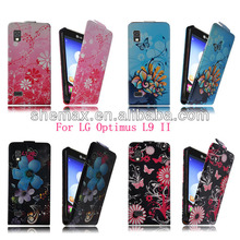 Custom Printed Flip Bumper Frame Case For LG Optimus L9 ii D605