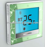 Touch screen fan coil