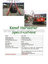 Kenaf harvesting machinery