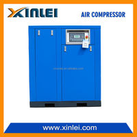 XLJM60A-K6 direct driven oil screw compressor low noise compressor 60HP industrial compressor big power