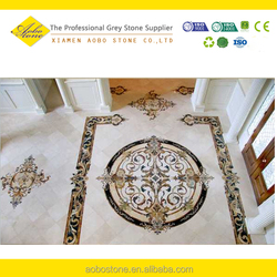 classic waterjet marble floor tiles design