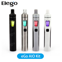 Newest Vaporizer Pen Joyetech eGo AIO E Cigarette 1500mAh With Fantacstic Colors Child Proof Elego Wholesale
