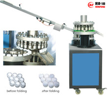anti-theft cap folding / cap sealing machine