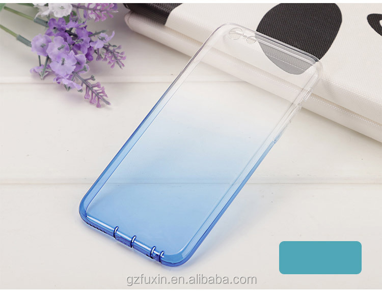 TPU color change cell phone case back cover for iphone 5 / 5C