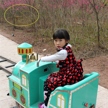 High-capacity tourist train New type track your train