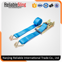 2inch 4000kg polyester strong ratchet cargo lashing strap belt