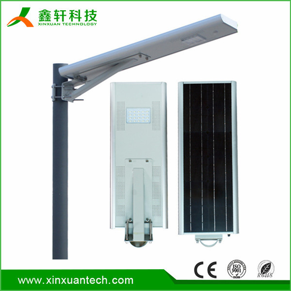 Super bright High quality 50W integrated energy led solar garden light