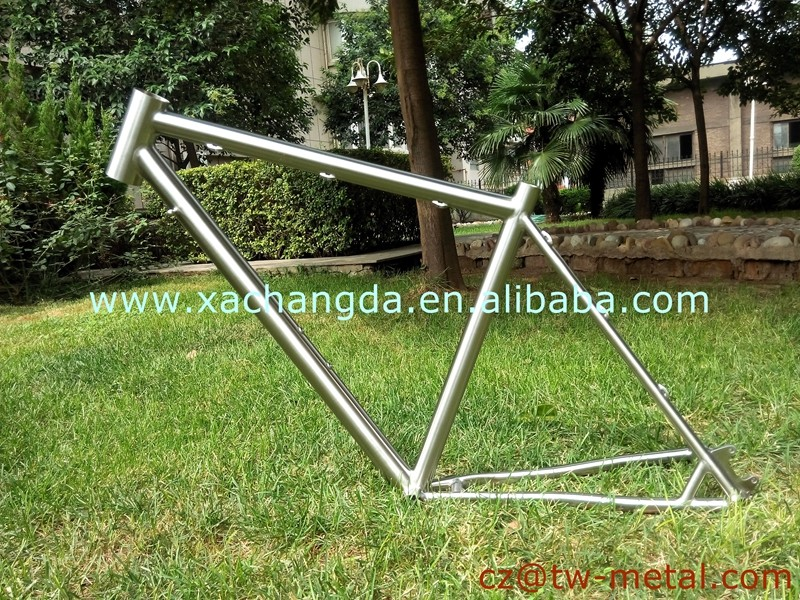 XACD new Titanium Road bike frame customized road bicycle frame with disc brake