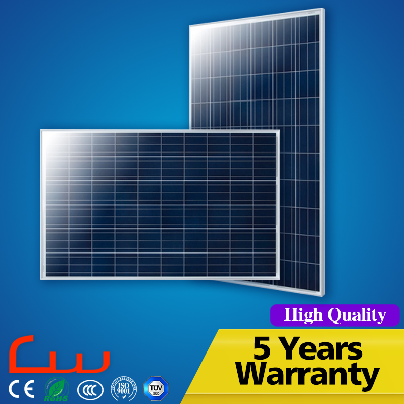 Fashionable High Efficiency 150 Watts 5.5V Solar Panel