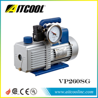 Two stage Vacuum pump with Solenoid valve gauge VP260SG