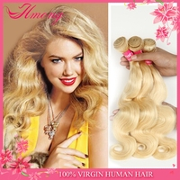 Factory Directly Supply 100 Human Hair Blonde Hair Bundles Color #613