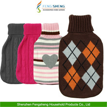 Knitted Hot Water Bottle Cute Lovely Knit Cover