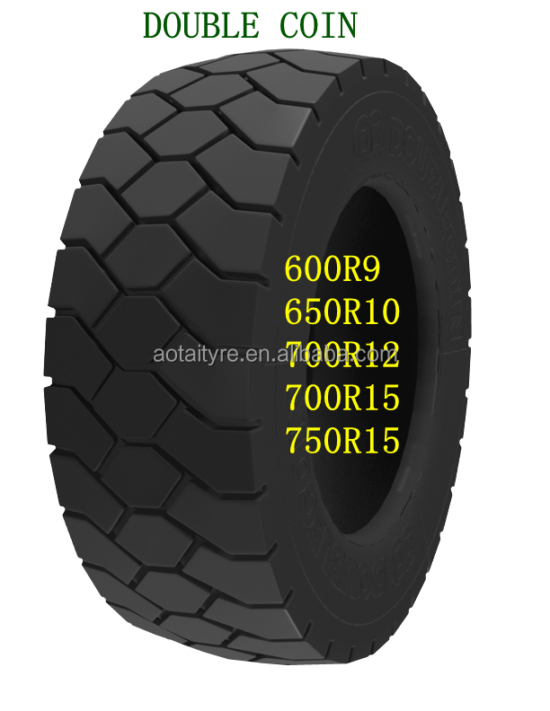 High quality Double Coin radial industrial forklift tires 315/70R15