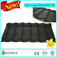 corrugated steel material roofing sheets/stone coated steel roof tiles stone tiles metal roof