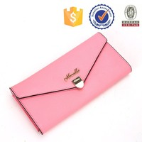 Newest Fashion Leather Ladies Purse In Stock young girls leather clutch bag