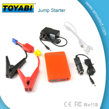 Portable 400 AMP Peak Car Battery Jump Starter Power Pack Charger 12V With 6000mAh - Emergency Auto Heavy Duty Jump Starter