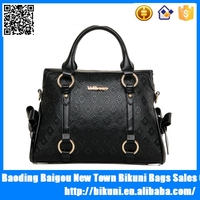 Hot selling purse ladies promotion elegance office bag pu leather women fashion handbags 2015
