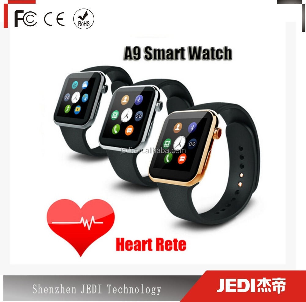 Polar watch new wifi smart watch a9 with heart rate monitor_MO934