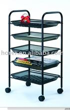 5-Tier Metal Cart