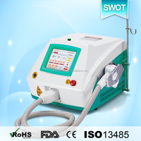 SWOT new porotable 808nm diode laser hair removal for men