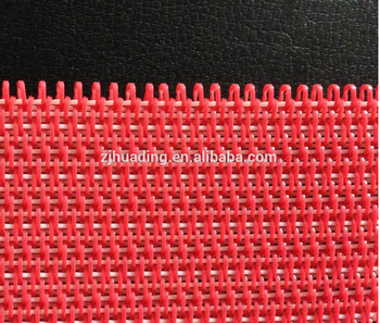 Red Flat polyester dryer fabric environmental protection Ppolyester