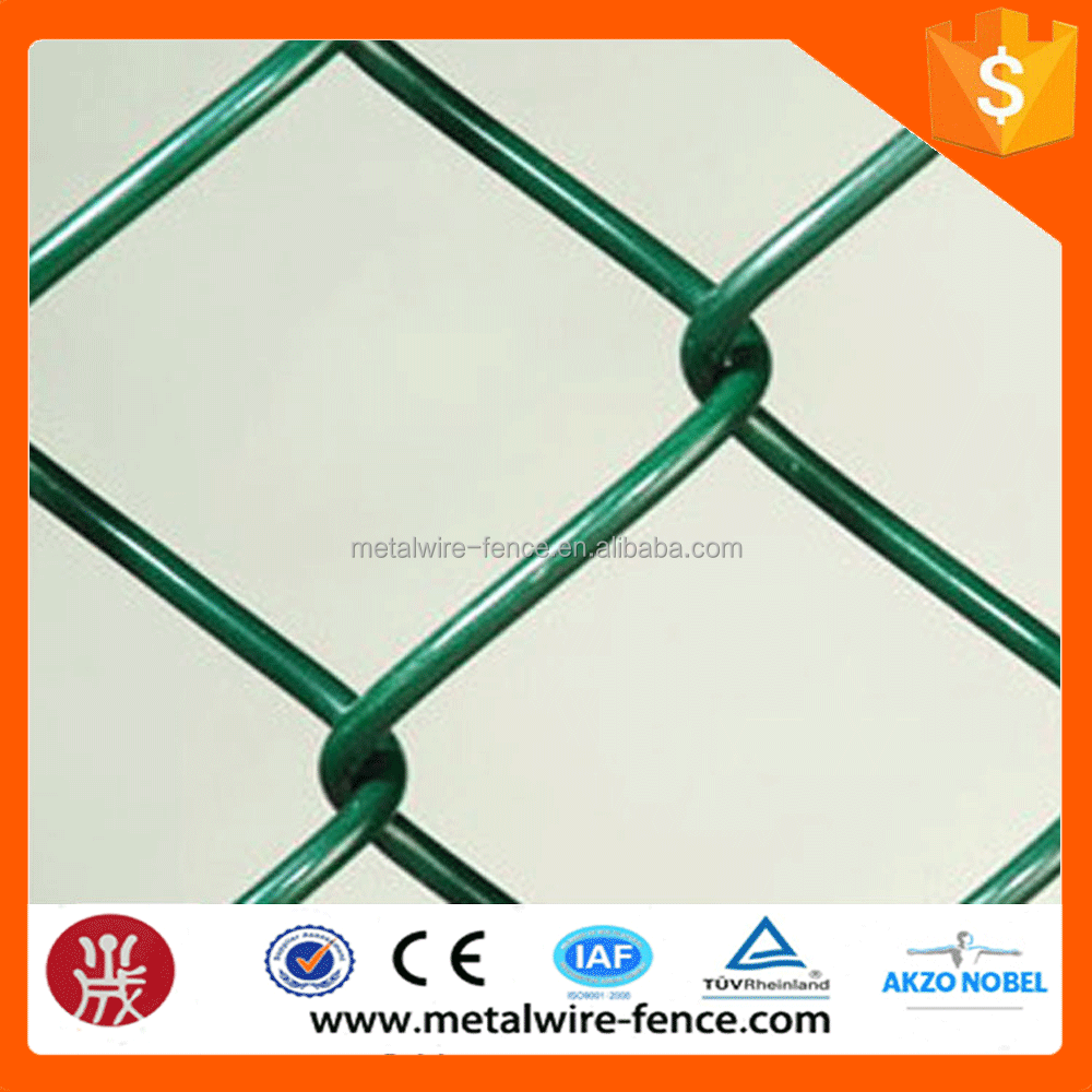 big factory supply chain link wire mesh used chain link fence for sale