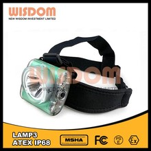 Wisdom ATEX approved benz w123 head lamp, cap lamp