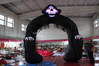 16ft Promotional halloween arch/black/lighting/halloween arch for promotion W76