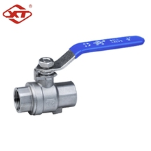 China Supplier High Quality 2PC Stainless Steel Thread Ball Valve