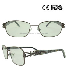 Hot sale New Model Stainless Eyewear Frame glasses With Diamonds