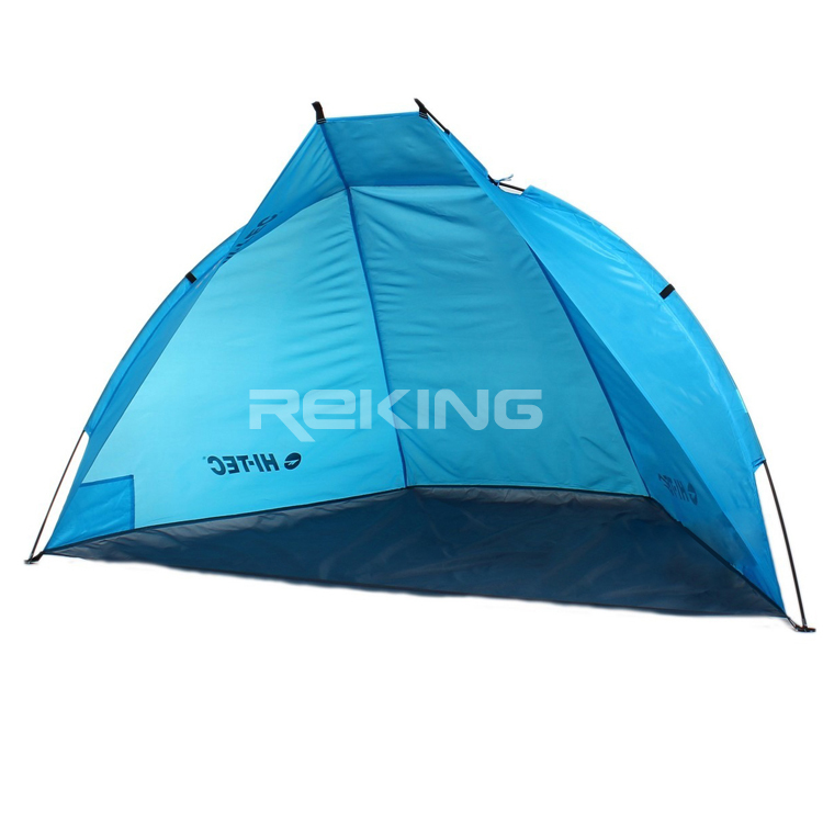 blue outdoor folding beach tent