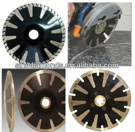 diamond curved saw blade convex cutting blade contour blade