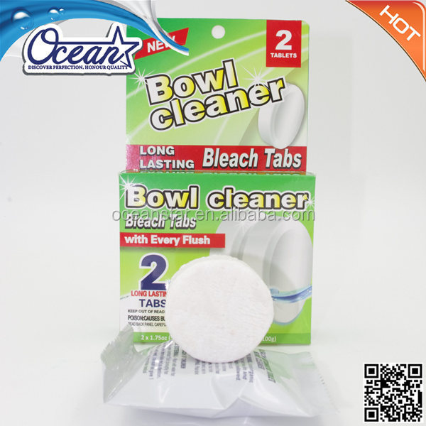 50 g hot-selling automatic toilet bowl cleaner bleach toilet blocks