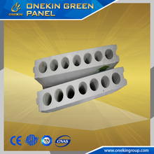 high strength magnesium concrete hollow core green health decorative wall panels mgo board