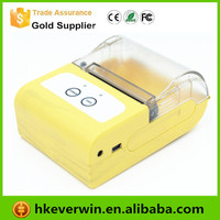 Restaurant Portable 58mm Thermal Receipt Printer with Paper Roll&Driver/mobile bluetooth thermal printer