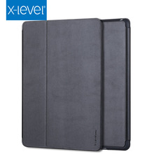 Newest folding flip stand tpu pu leather cover for ipad mini 4 case