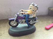 betty boop resin figure, custom anime figure,sexy girls cartoon toys