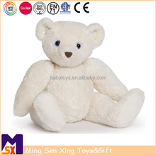 Wholesale White Teddy Bear With Movable Jointed Head Arms And Legs