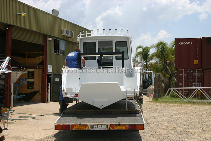 Australian Standard CE certificate all welded deep-V aluminum fishing boat lifestyle boat for sale