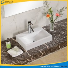 GA-2002 Hot sale ceramic 2015 bathroom sinks