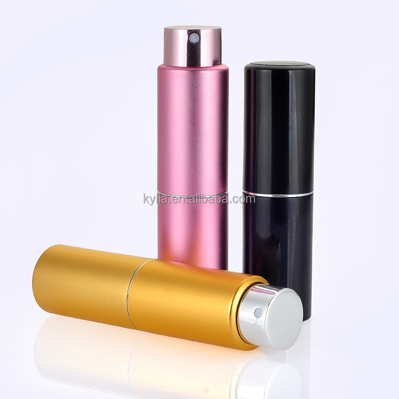 15ml black portable travel refillable perfume for wholesales