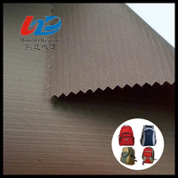 Polyester Dobby Twill Woven Fabric With PU/PVC Coating For Bags/Luggages/Shoes/Tent/Garment Using