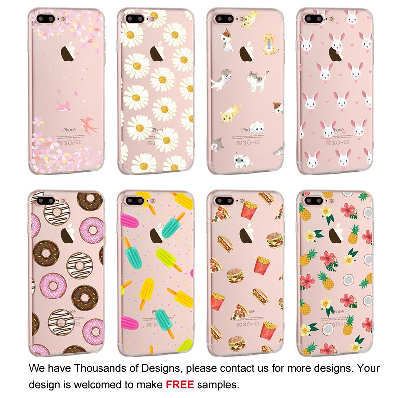 Christmas decorating silicone case for iPhone 7 smartphone cartoon cover,mobile phone shell,cell phone case for iPhone 7 plus