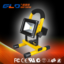 10W 20W 30W 50W Portable rechargeable led flood light with Li battery power