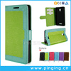 Retro Silk Multi-function Magnetic Wallet Pu Leather Stand Case For Allview P9 Energy Lite
