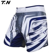 Wholesale fabric shorts mma mma shorts custom logo 2017