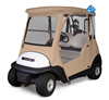 Outdoor weather protection golf cart rain cover for club car golf cart