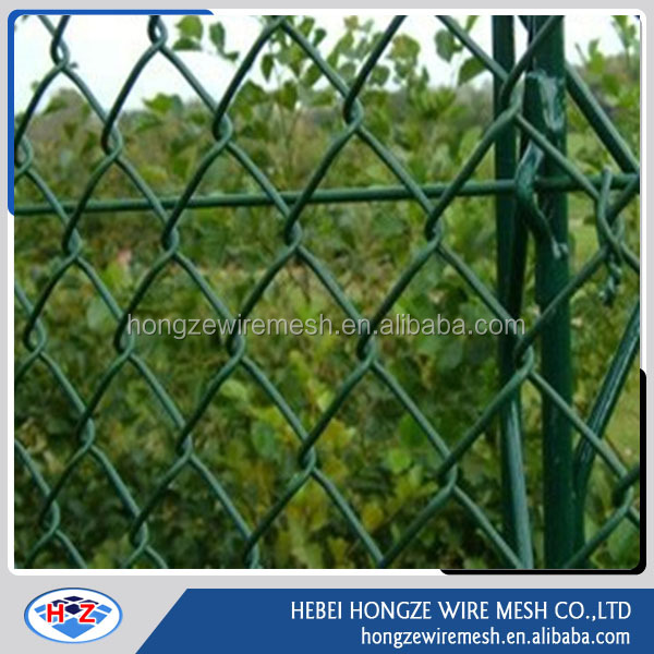 galvanized steel link chain link fence panels