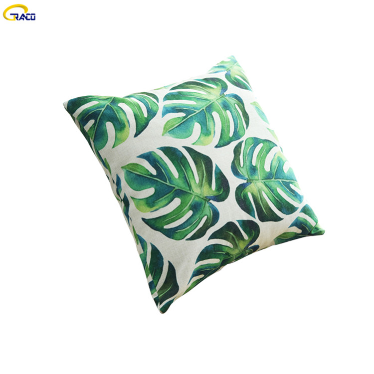 High Standard Soft Pillow Chair Seat Led Cushion Cover Linen