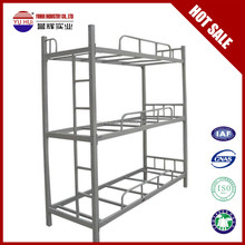 metal three bunk bed triple bunk beds for kids